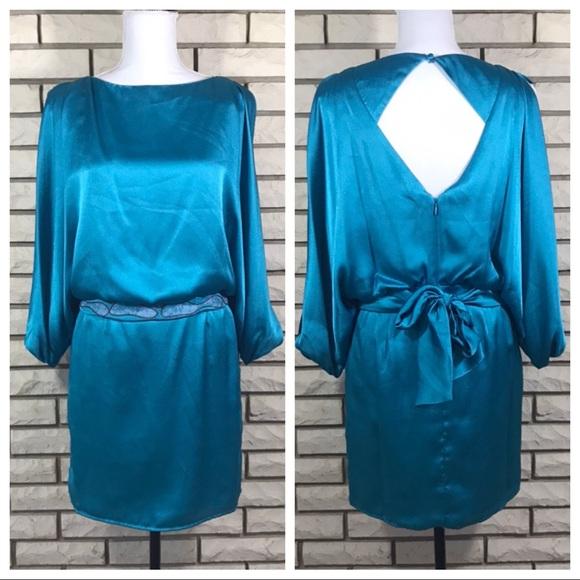 NWT Jessica Simpson Silky Blouson Dress 2